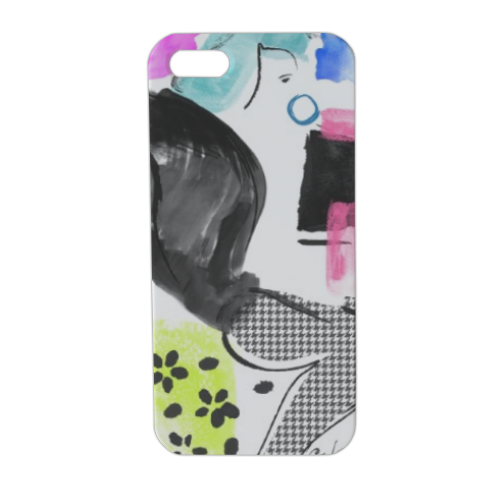 Glamour Cover iPhone5 stampa 3D