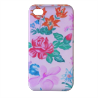 Flowers Cover iPhone4 4s stampa 3D