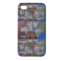 Divinus Halitus Terrae Cover iPhone4 4s stampa 3D