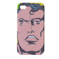 SUPERMAN 2014 Cover iPhone4 4s stampa 3D