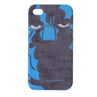 PANTERA NERA Cover iPhone4 4s stampa 3D