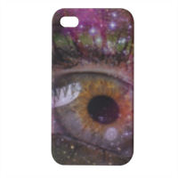 Galaxy admirabilis Cover iPhone4 4s stampa 3D