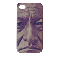 Sitting Bull Cover iPhone4 4s stampa 3D