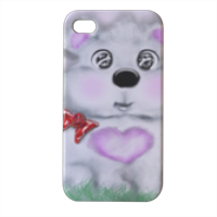 Puffotto Cover iPhone4 4s stampa 3D