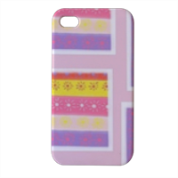 Strisce Multicolore Cover iPhone4 4s stampa 3D