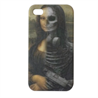 Peace and war Cover iPhone4 4s stampa 3D