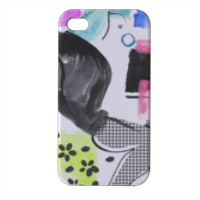 Glamour Cover iPhone4 4s stampa 3D