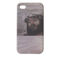 CRISTO Cover iPhone4 4s stampa 3D