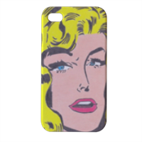 SUPERGIRL Cover iPhone4 4s stampa 3D