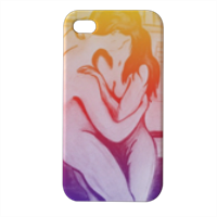 Bacio sfumato Cover iPhone4 4s stampa 3D