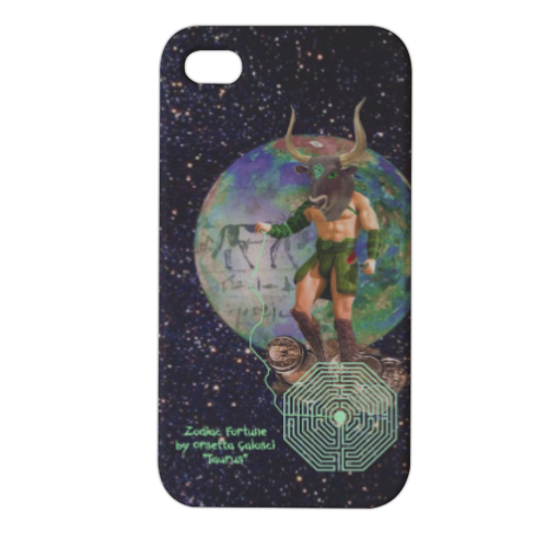 Zodiac Fortune Tau Cover iPhone4 4s stampa 3D