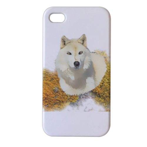 Mon Loup Expecto Patronum Cover iPhone4 4s stampa 3D