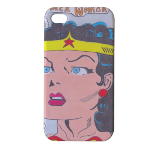 WONDER WOMAN 2015 Cover iPhone4 4s stampa 3D