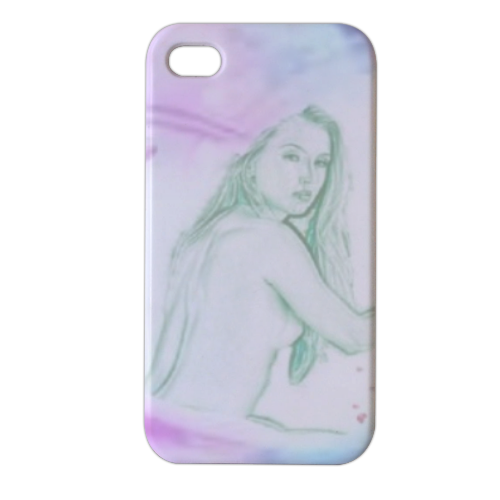 anima nei fior Cover iPhone4 4s stampa 3D