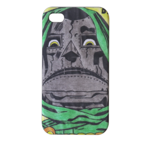 DOTTOR DESTINO Cover iPhone4 4s stampa 3D