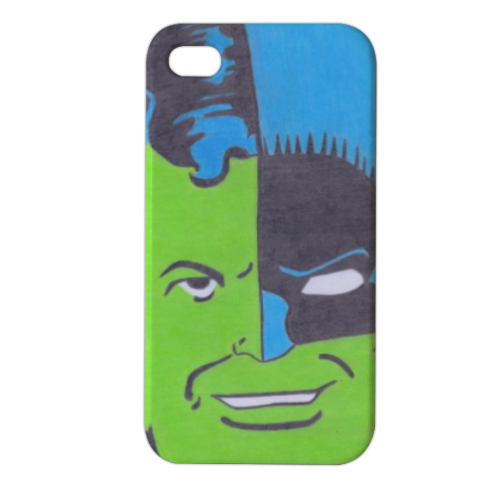 THE COMPOSITE SUPERMAN Cover iPhone4 4s stampa 3D