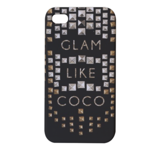 Glam Like Coco Cover iPhone4 4s stampa 3D