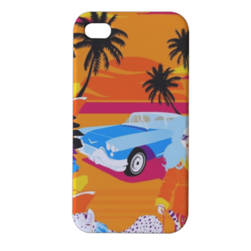 Rich Summer  Cover iPhone4 4s stampa 3D