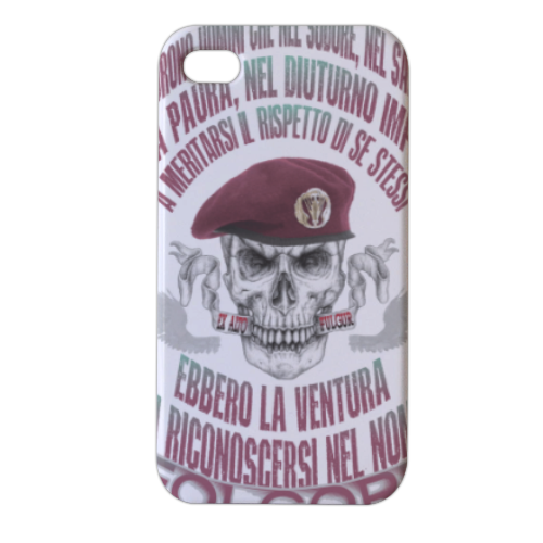 Come Folgore dal cielo Cover iPhone4 4s stampa 3D
