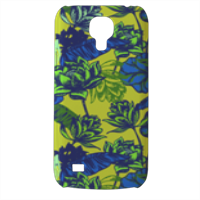 Flowers Cover Samsung Galaxy s4 mini stampa3D