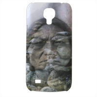 Sitting Bull Hero one Cover Samsung Galaxy s4 mini stampa3D