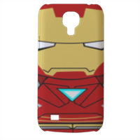 Team Ironman Cover Samsung Galaxy s4 mini stampa3D