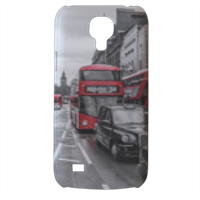 London red and white Cover Samsung Galaxy s4 mini stampa3D