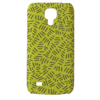Texture with stripe Cover Samsung Galaxy s4 mini stampa3D