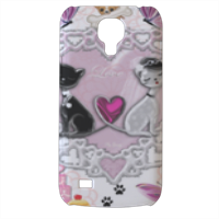 Sweet Love with Dog Cover Samsung Galaxy s4 mini stampa3D