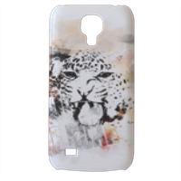 Il ruggito del leopardo Cover Samsung Galaxy s4 mini stampa3D
