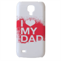 I Love My Dad - Cover Samsung Galaxy s4 mini stampa3D