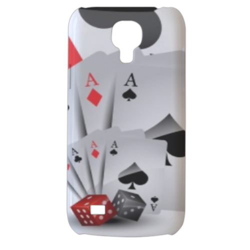 Poker Cover Samsung Galaxy s4 mini stampa3D