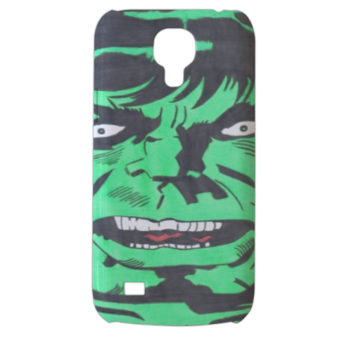 HULK 2013 Cover Samsung Galaxy s4 mini stampa3D