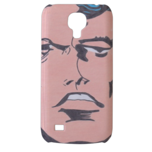 SUPERMAN 2014 Cover Samsung Galaxy s4 mini stampa3D