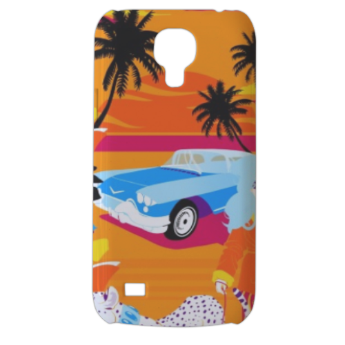 Rich Summer  Cover Samsung Galaxy s4 mini stampa3D