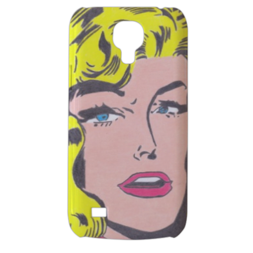 SUPERGIRL Cover Samsung Galaxy s4 mini stampa3D