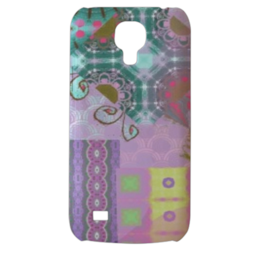 Astratto colorato Cover Samsung Galaxy s4 mini stampa3D