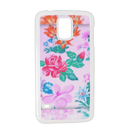 Flowers Cover Samsung galaxy s5