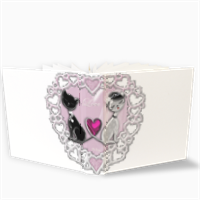 Weddings Cats Fotoalbum con Tasche 26x30
