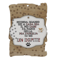 Tablet dog verticale Pergamena in masonite