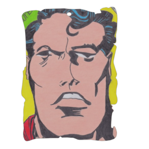 SUPERMAN 2014 Pergamena in masonite