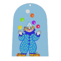 clown Campana in masonite