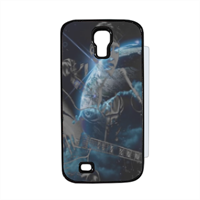 He came from heaven Flip cover Samsung Galaxy S4