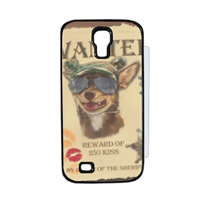 Wanted Rambo Dog Flip cover Samsung Galaxy S4