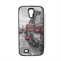 London red and white Flip cover Samsung Galaxy S4