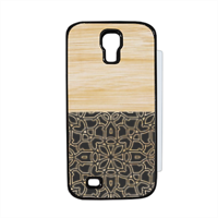 Bamboo Gothic Flip cover Samsung Galaxy S4