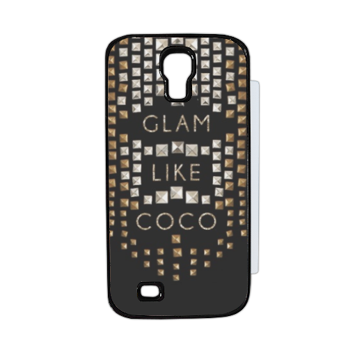 Glam Like Coco Flip cover Samsung Galaxy S4