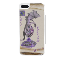 AMETHYSTUS FORTUNAE Flip sportello laterale iPhone5