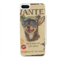 Wanted Rambo Dog Flip sportello laterale iPhone5