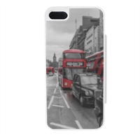 London red and white Flip sportello laterale iPhone5
